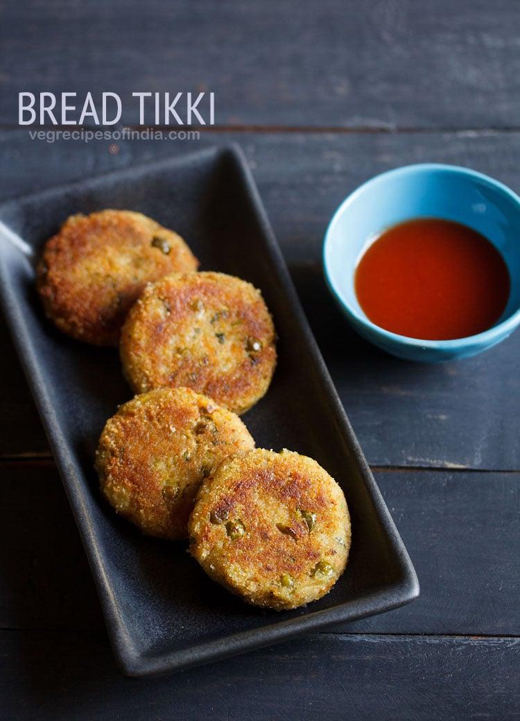 bread tikki recipe