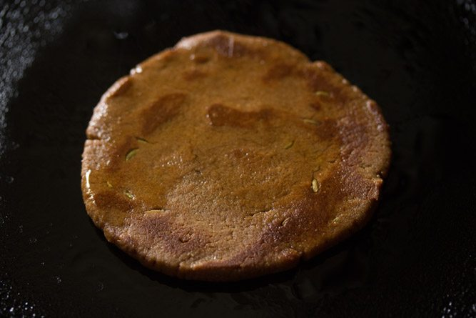 making jaggery roti recipe