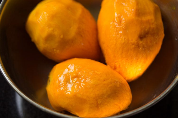 mangoes to make mango shikran recipe