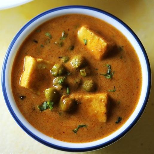 matar paneer recipe dhaba style, paneer mutter masala recipe