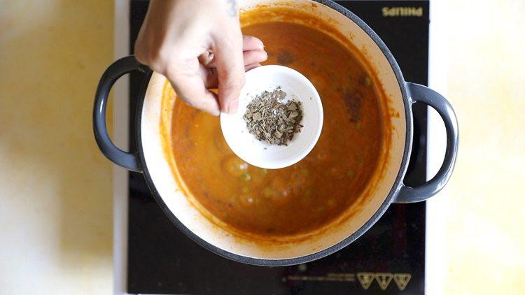 making dhaba style matar paneer recipe