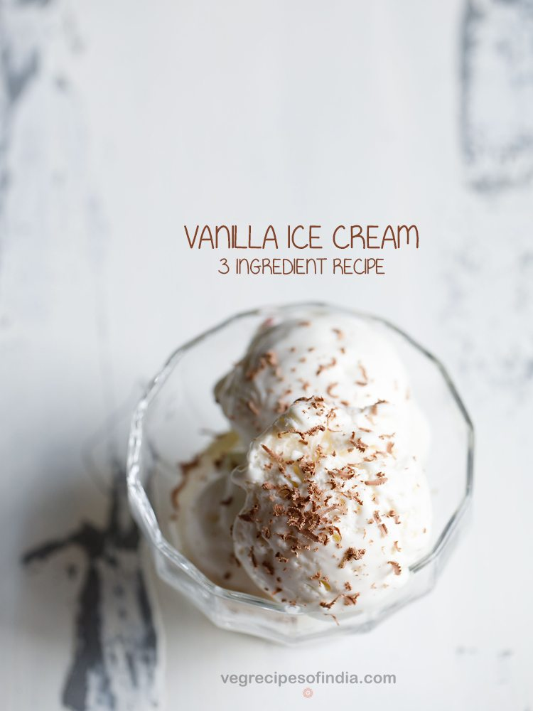 vanilla ice cream recipe
