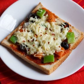 bread pizza recipe on tawa, bread pizza recipe without oven
