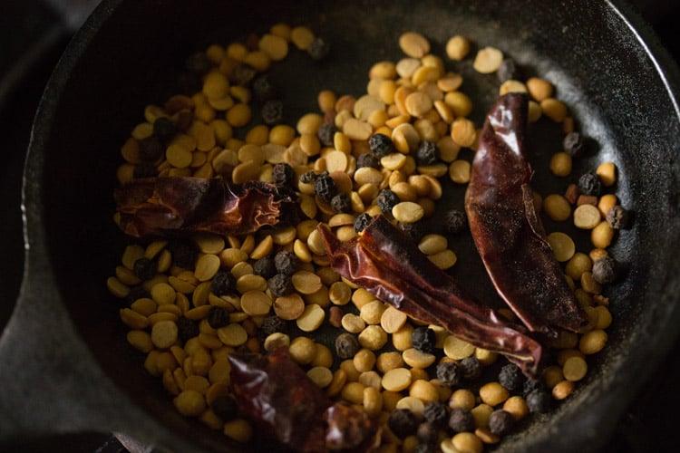 making curd rasam recipe