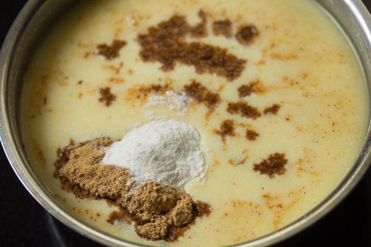 making buttermilk rasam recipe