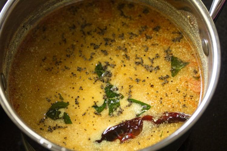 making mor rasam recipe