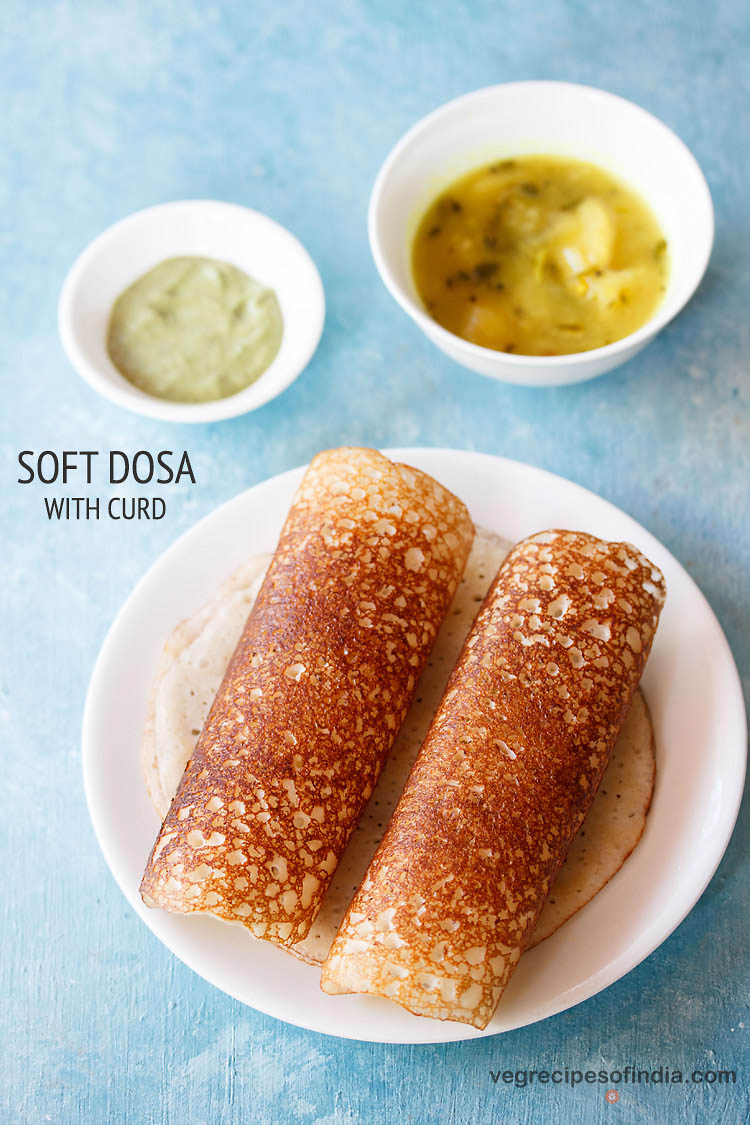 set dosa with curd recipe