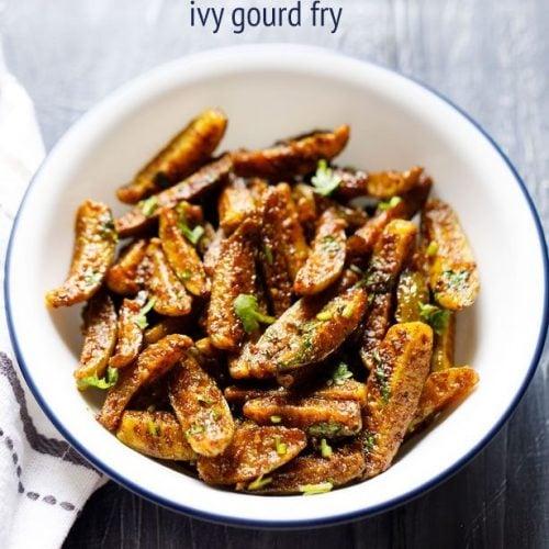 kovakkai fry recipe, tindora fry recipe