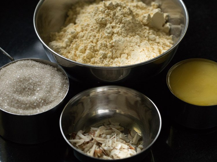 making besan barfi recipe