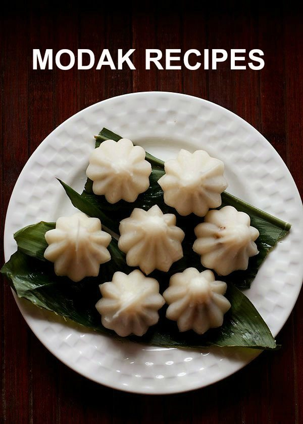 MODAK RECIPES