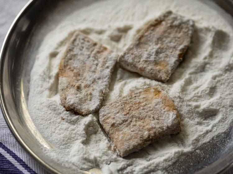 making raw banana fry recipe