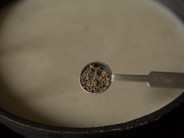 making javvarisi payasam or sabudana payasam recipe