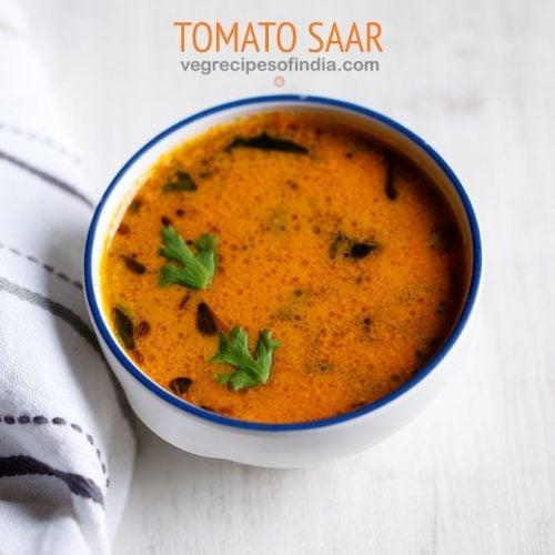 tomato saar recipe, tomato curry recipe
