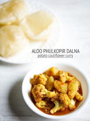 aloo phulkopir dalna recipe