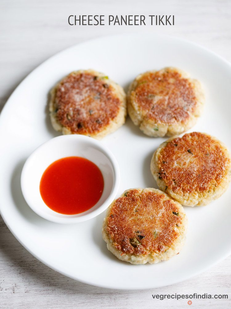 cheese paneer tikki recipe