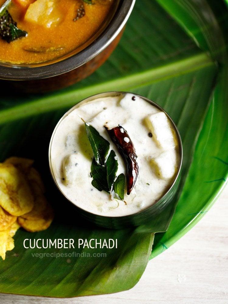 cucumber pachadi recipe