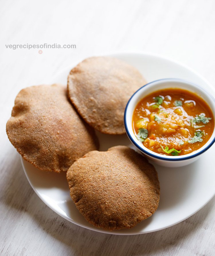 kuttu poori recipe