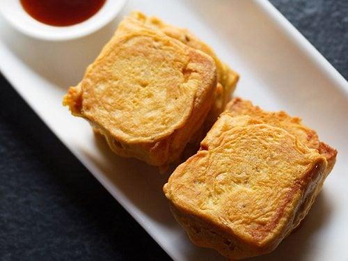 aloo bread pattice recipe