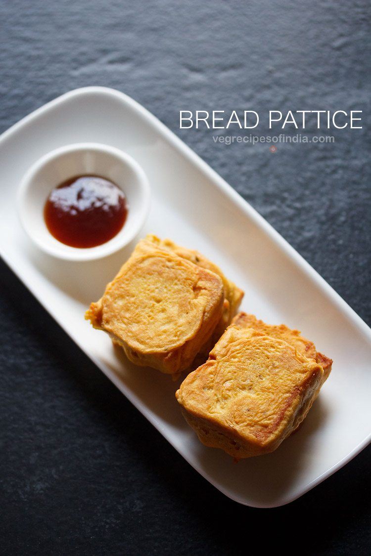bread patties recipe