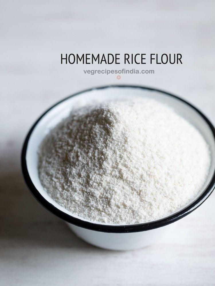 homemade rice flour recipe