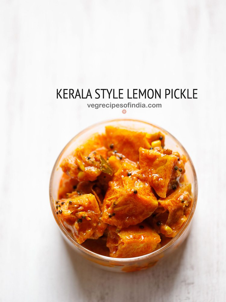 kerala style lemon pickle