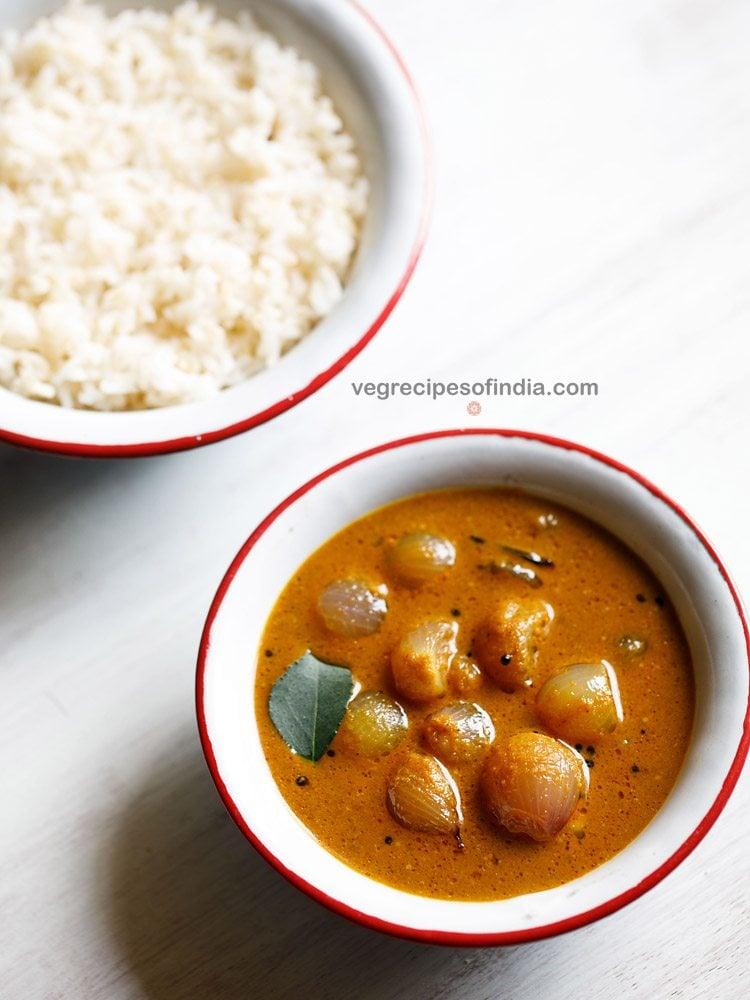 Kerala ulli theeyal recipe