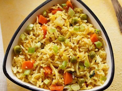 veg masala fried rice recipe