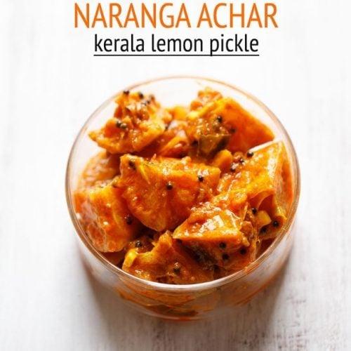 naranga achar recipe, kerala style lemon pickle recipe