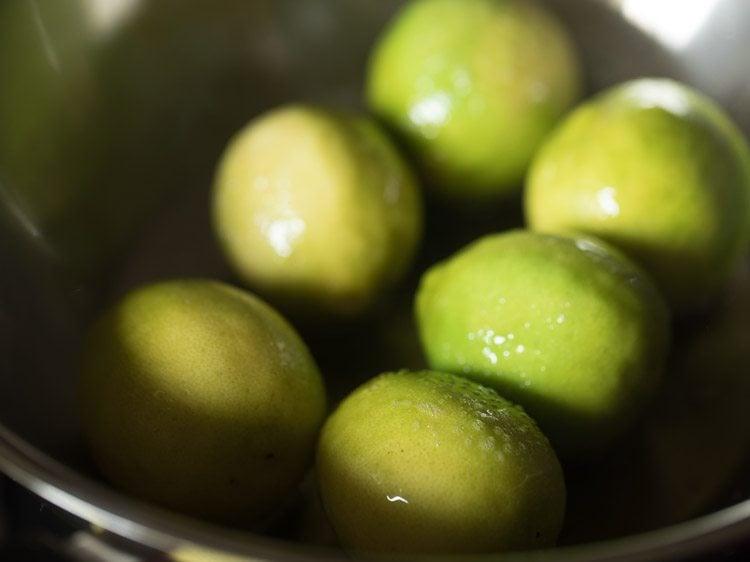 lemons for naranga achar recipe
