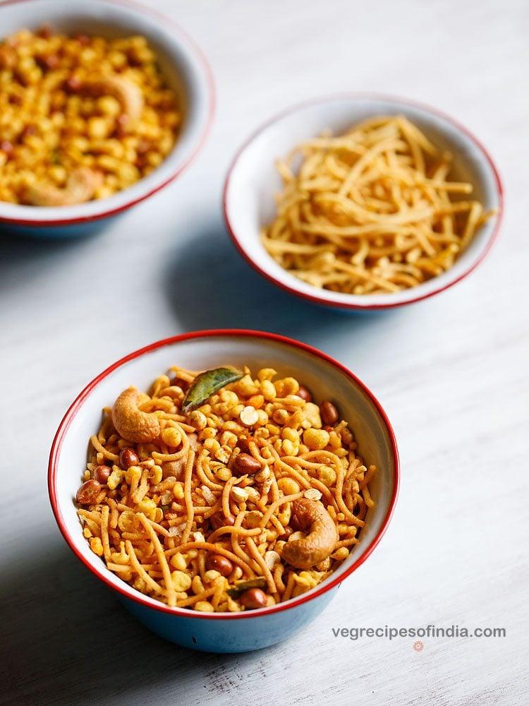 omapodi mixture recipe
