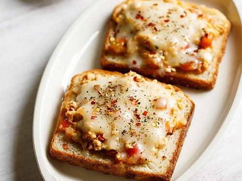 paneer cheese toast recipe