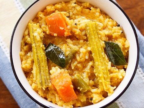 sambar rice recipe sambar sadam recipe