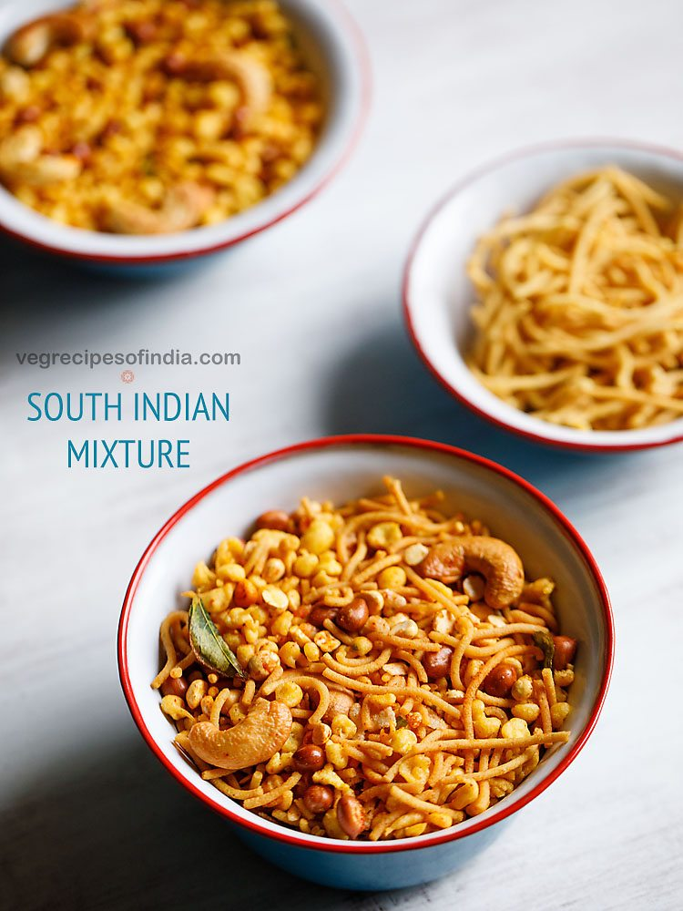 mixture recipe, south indian mixture recipe