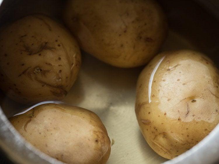 potatoes to make aloo chop recipe