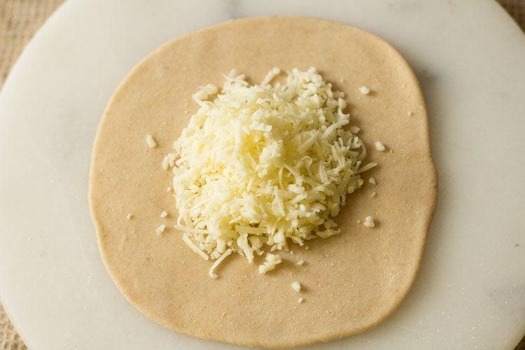 making cheese naan recipe