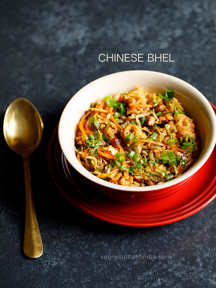Chinese bhel recipe how to make chinese bhel recipe noodles recipes forumfinder Choice Image
