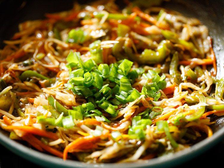 making chinese bhel recipe