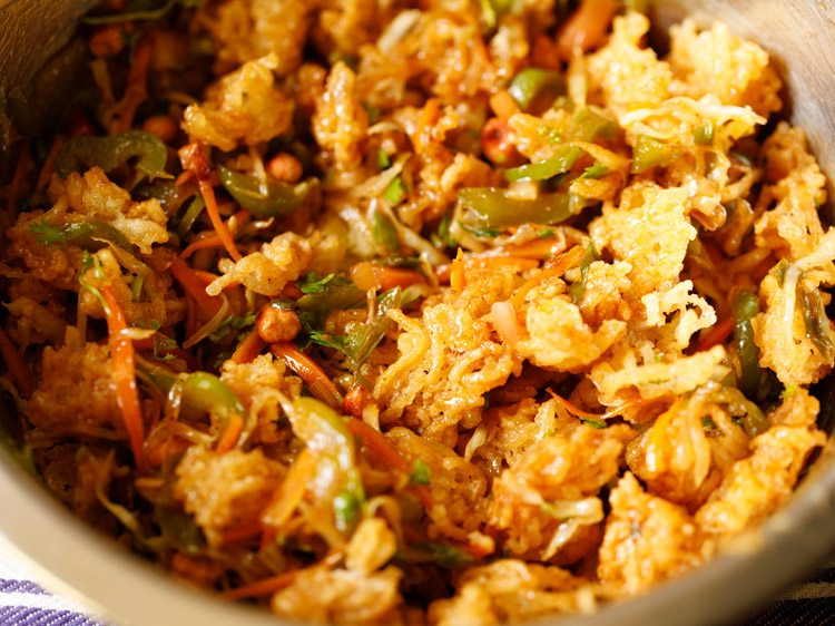 how to make bhel mix at home