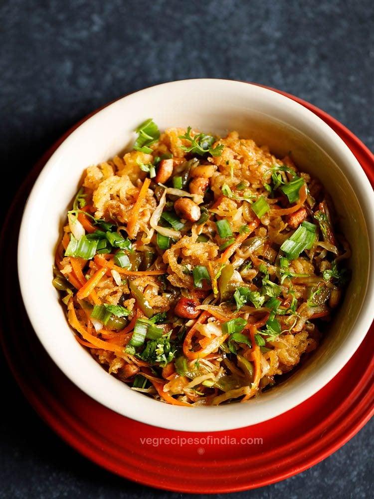 crispy chinese bhel recipe