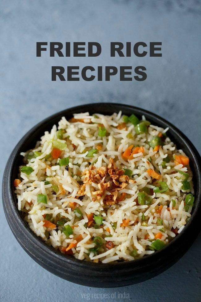 veg fried rice recipes