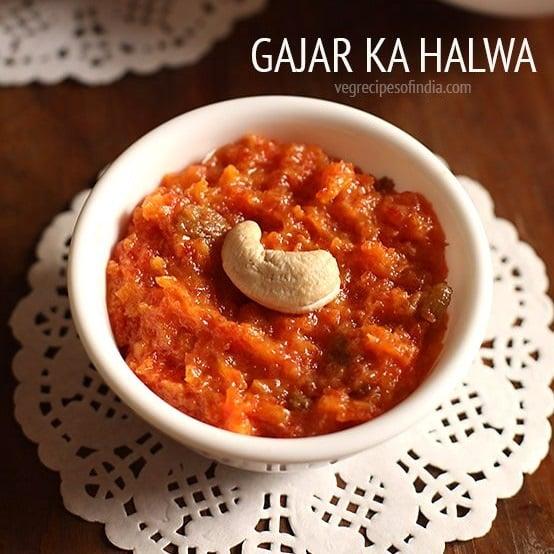 gajar ka halwa recipe wth khoya, carrot halwa recipe