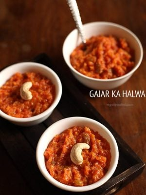 quick gajar ka halwa recipe, easy carrot halwa