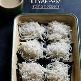 idiyappam recipe, nool puttu recipe