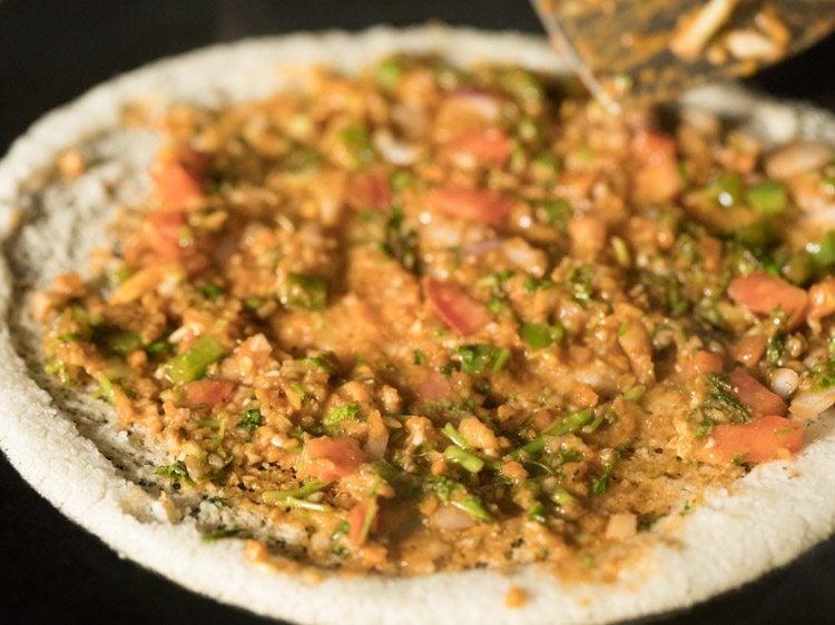 making jini dosa recipe