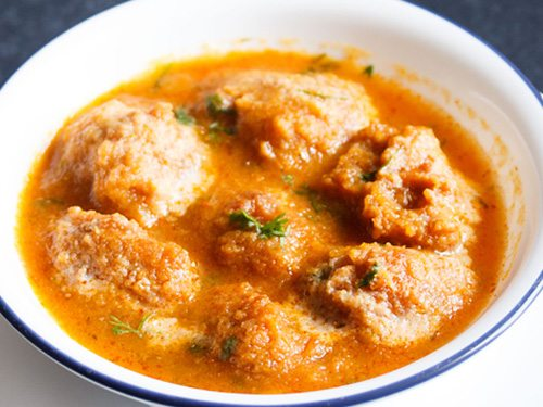 kamal kakdi kofta curry recipe