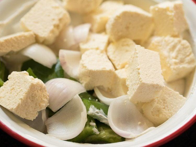 making malai paneer tikka recipe