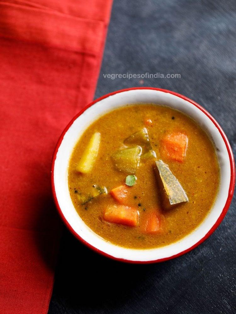 mysore style sambar recipe