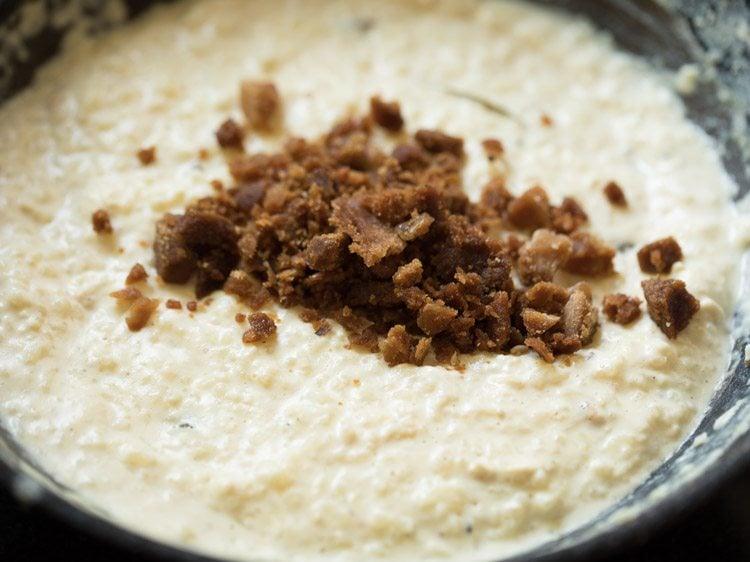 making bengali nolen gurer payesh recipe
