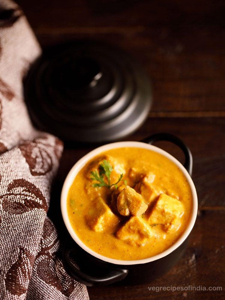 paneer mushroom masala recipe