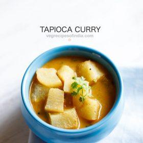 tapioca curry recipe